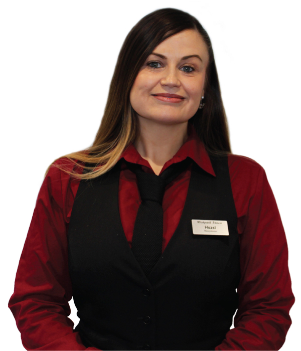 westpark fitness receptionist team hazel