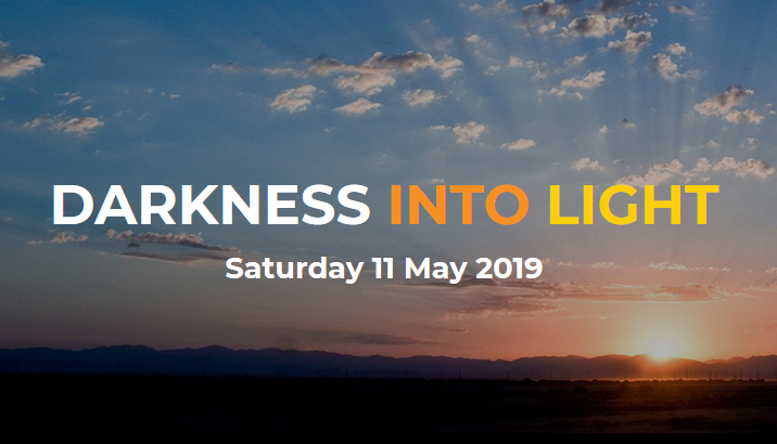 2019 fitness events in ireland darkness into light poster