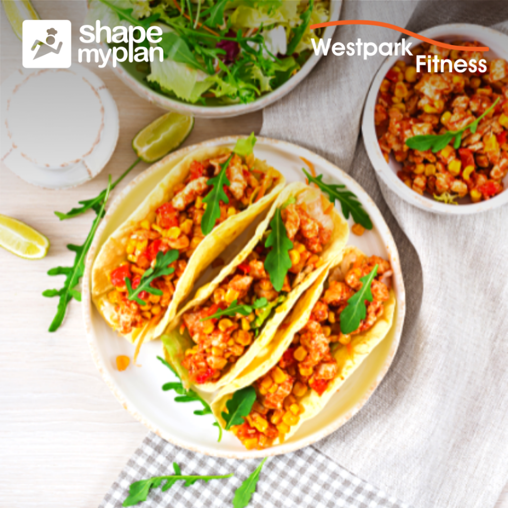 chicken tacos recipe of the week westpark fitness