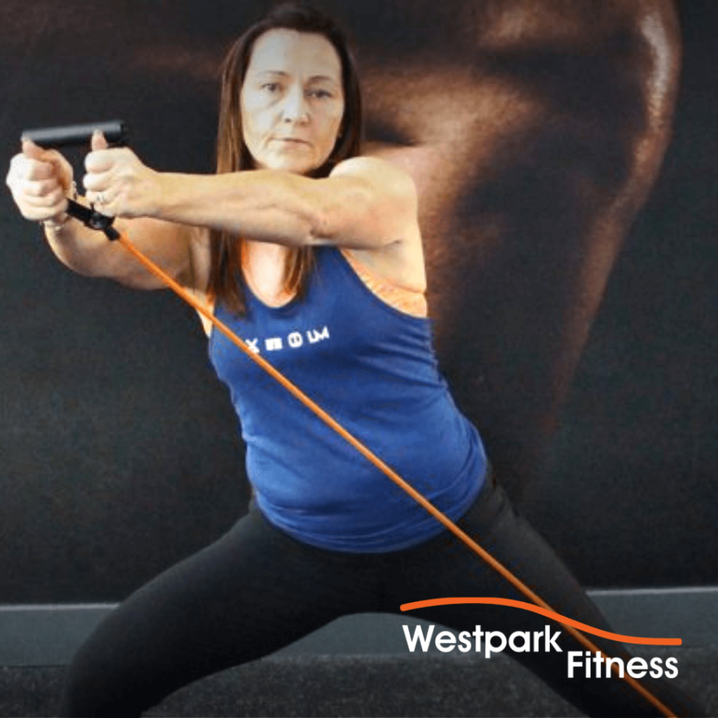 woodchop exercise of the week at westpark fitness