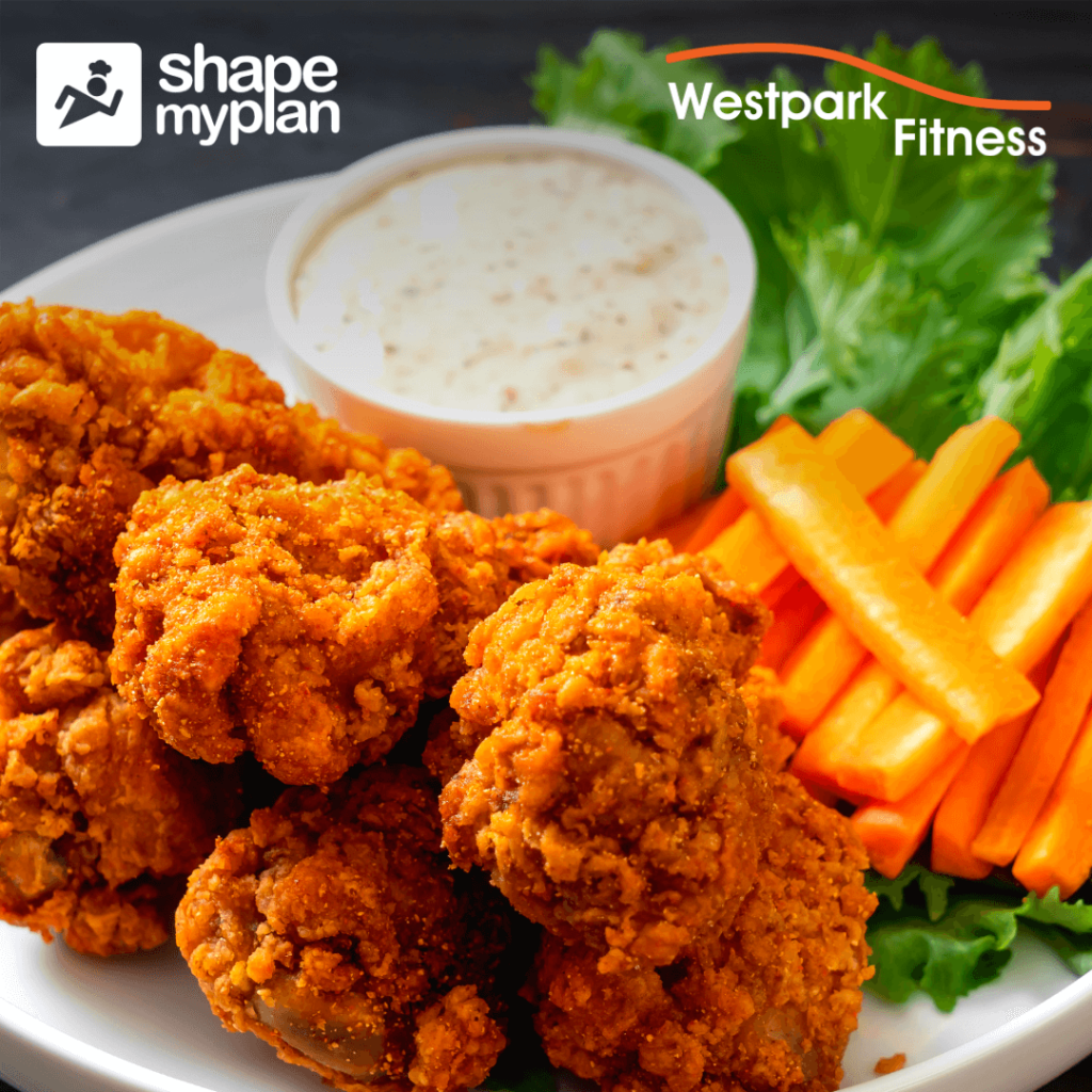 cauliflower buffalo wings recipe of the week at westpark fitness