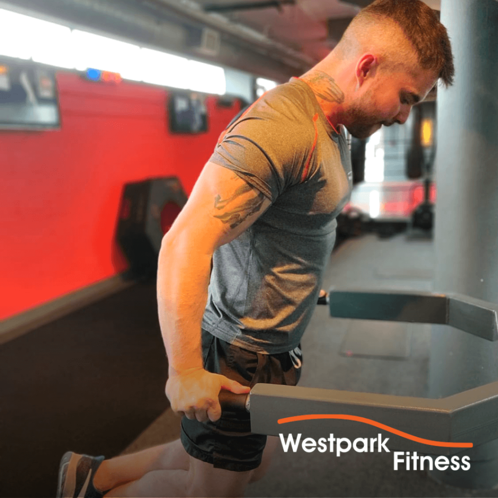 chest dips exercise of the week at westpark fitness