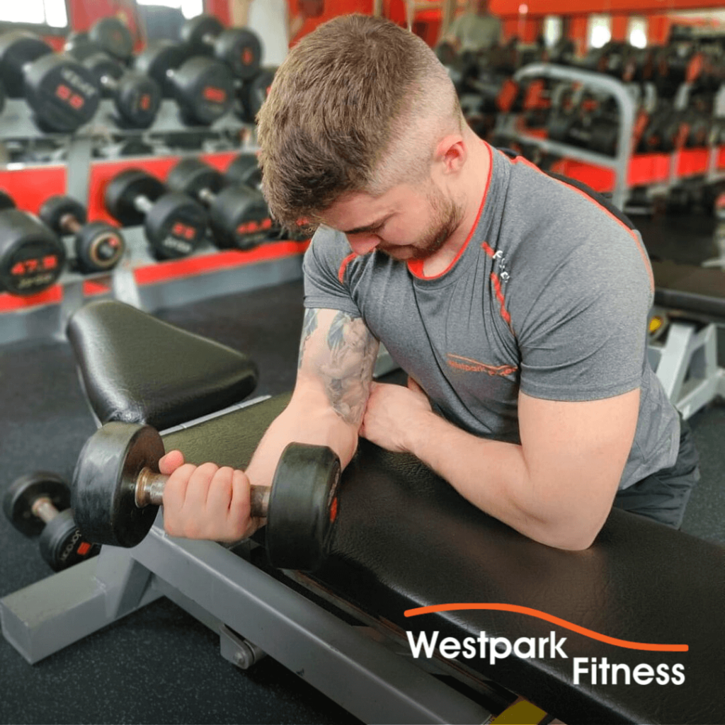 wrist curl westpark fitness exercise of the week