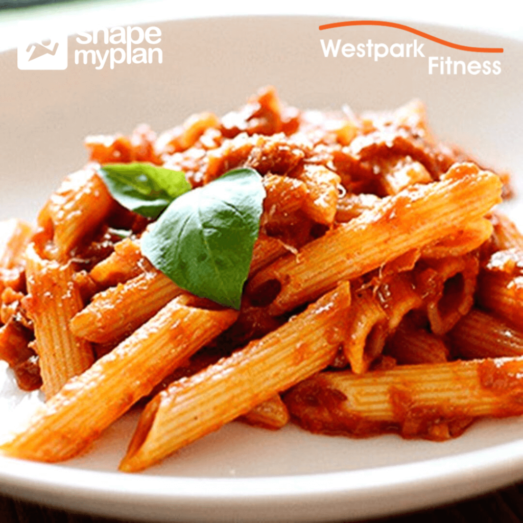 chicken arrabbiata westpark fitness recipe of the week
