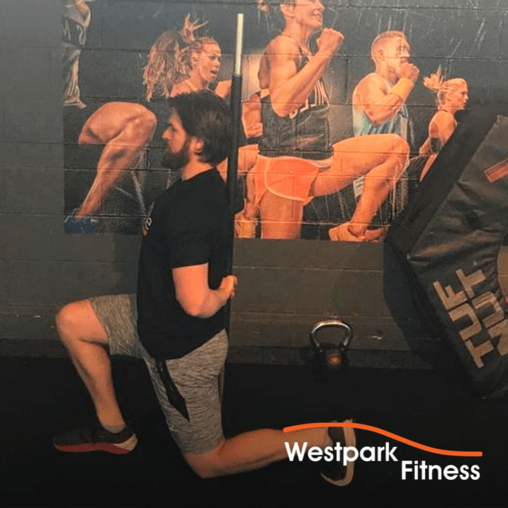 functional movement lunge exerise of the week at westpark fitness