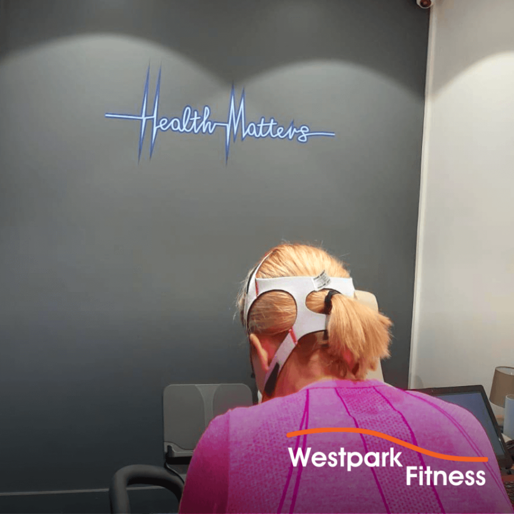 v02 max testing at westpark fitness with health matters