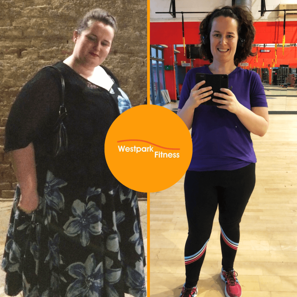 weight loss success stories at westpark fitness
