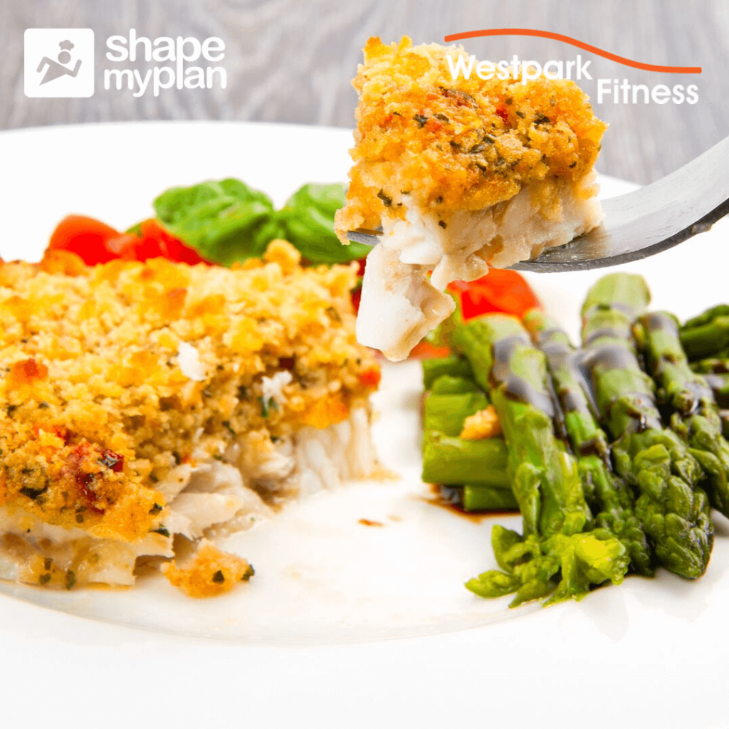 cod and asparagus recipe of the week at westpark fitness