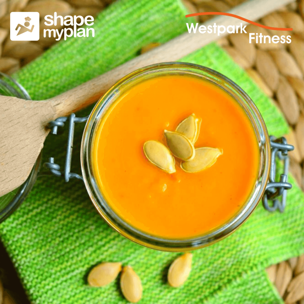 pumpkin soup recipe of the week at westpark fitness