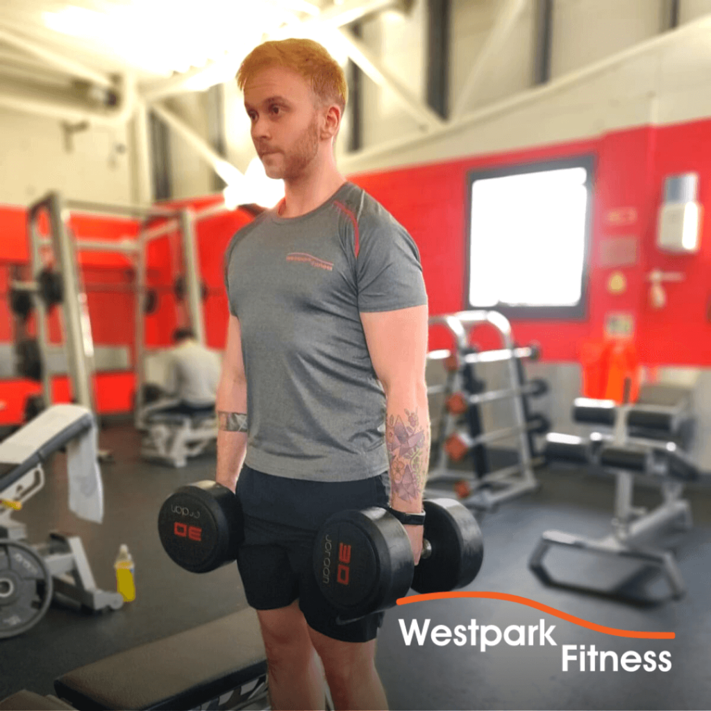 shoulder shrugs exercise of the week westpark fitness