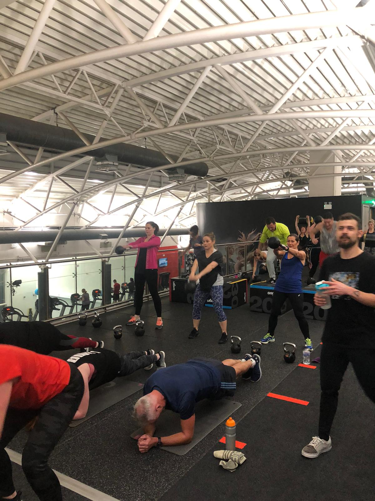 wp burn class at westpark fitness